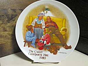 The Bedtime Story Grandparents Collector Plate