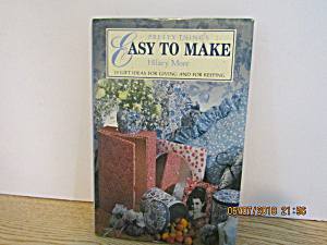 Sewing Book Pretty Things Easy To Make