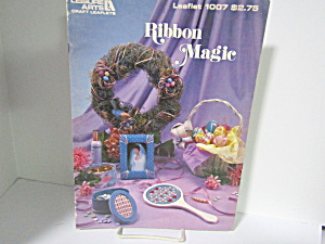 Leisure Arts Ribbon Magic For Your Home #1007