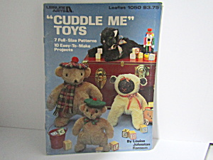 Leisure Arts Cuddle Me Toys #1050