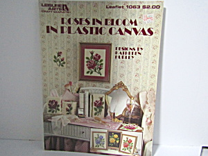 Leisure Arts Roses In Bloom In Plastic Canvas #1063