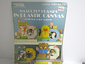 Leisure Arts Small Fry Frames In Plastic Canvas #1081
