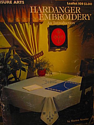 Leisure Arts Hardanger Embroidery An Introduction #108