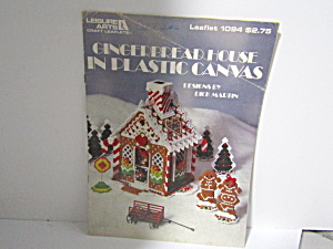 Leisure Arts Gingerbread House In Plastic Canvas #1094