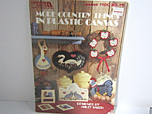 Leisure Arts More Countrythings In Plastic Canvas #1100