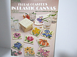 Leisure Arts Floral Coasters In Plastic Canvas #1107