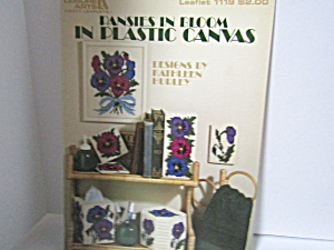 Leisure Arts Pansies In Bloom In Plastic Canvas #1119