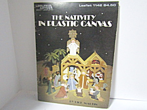 Leisure Arts The Nativity In Plastic Canvas #1142