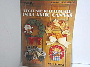 Leisure A Decorate To Celebrate In Plastic Canvas #1156
