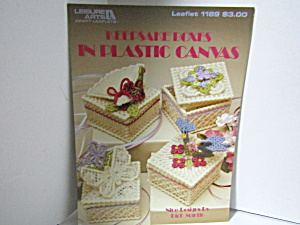 Leisure Arts Keepsake Boxes Plastic Canvas #1189