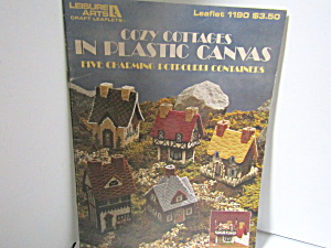 Leisure Arts Cozy Cottages In Plastic Canvas #1185