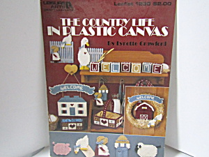 Leisure Arts The Country Life In Plastic Canvas #1230