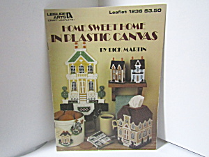 Leisure Arts Home Sweet Home In Plastic Canvas #1236
