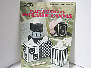 Leisure Arts Jazzy Boutiques In Plastic Canvas #1287