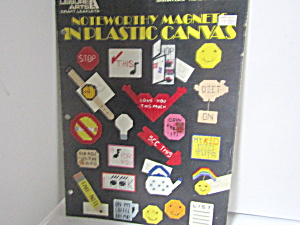 Leisure Arts Noteworthy Magnets In Plastic Canvas #1307