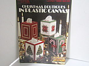 Leisure Art Christmas Boutique In Plastic Canvas #1328