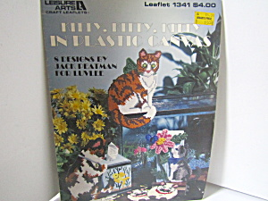 Leisurearts Kitty,kitty,kitty In Plastic Canvas #1341