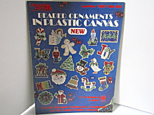 Leisure Art Beaded Ornaments In Plastic Canvas #1397