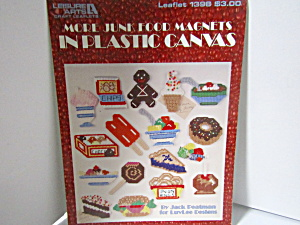 Leisure Arts Junk Food Magnets In Plastic Canvas #1398