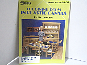 Leisure Arts Dining Room In Plastic Canvas #1409