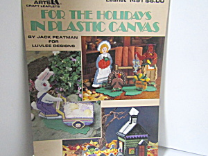 Leisure Arts For The Holiday In Plastic Canvas #1491