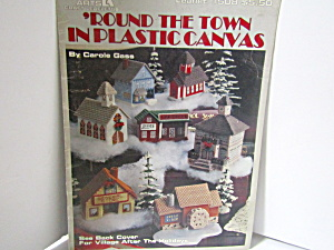 Leisure Arts Round The Town In Plastic Canvas #1508