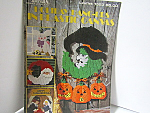 Leisure Arts Holiday Hang-ups In Plastic Canvas #1523