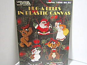 Leisure Arts Hug-a-bells In Plastic Canvas #1592