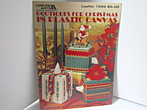 Leisure Boutiques For Christmas In Plastic Canvas #1594