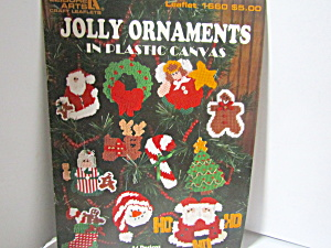 Leisure Arts Jolly Ornaments In Plastic Canvas #1660