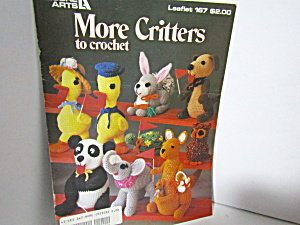 Leisure Arts More Critters To Crochet #167