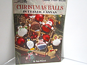 Leisure Arts Christmas Balls In Plastic Canvas #1724
