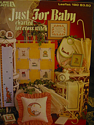 Leisure Arts Just For Baby Cross Stitch #190
