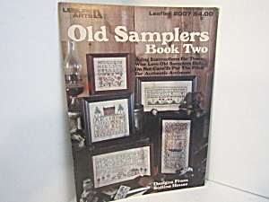 Leisure Arts Old Samplers Book Two #2007