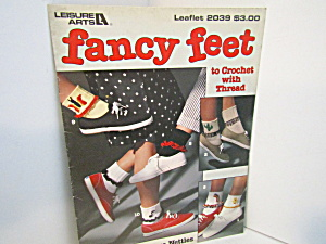 Leisure Arts Crocheted Fancy Feet #2039