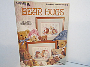 Leisure Arts Cross Stitch Bear Hugs #2065