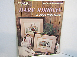 Leisure Arts Cross Stitch Hare Ribbons #2069