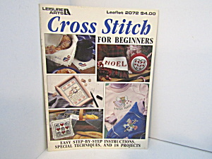 Leisure Arts Cross Stitch For Beginners #2072