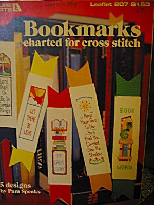 Leisure Arts Bookmarks Charted For Cross Stitch #207