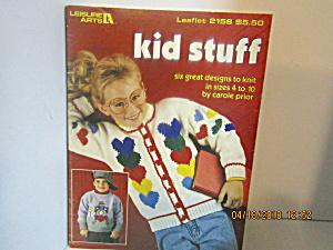 Leisure Arts Kids Stuff To Knit  #2158 (Image1)