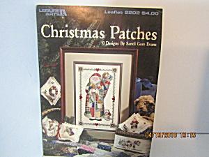 Leisure Arts Cross Stitch Christmas Patches  #2202 (Image1)