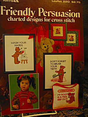Leisure Arts Friendly Persuasion Cross Stitch #220