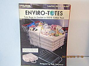 Leisure Arts Enviro-Totes To Crochet  #2212 (Image1)