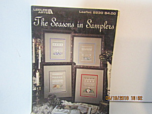 Leisure Art The Seasons In Samplers #2230