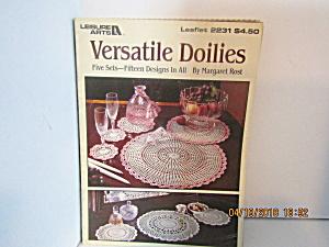 Leisure Arts Versatile Doilies  #2231 (Image1)