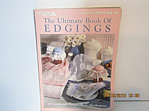 Leisure Arts The Ultimate Book Of Edgings  #2244 (Image1)