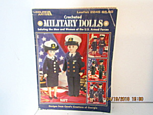 Leisure Arts Crocheted Military Dolls #2245