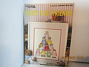 Leisure Arts Cross Stitch Beary Best Friends #2248