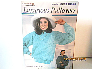 Leisure Arts Knit Luxurious Pullover  #2250 (Image1)