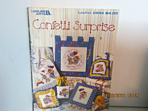 Leisure Arts Cross Stitch Confetti Surprise #2294
